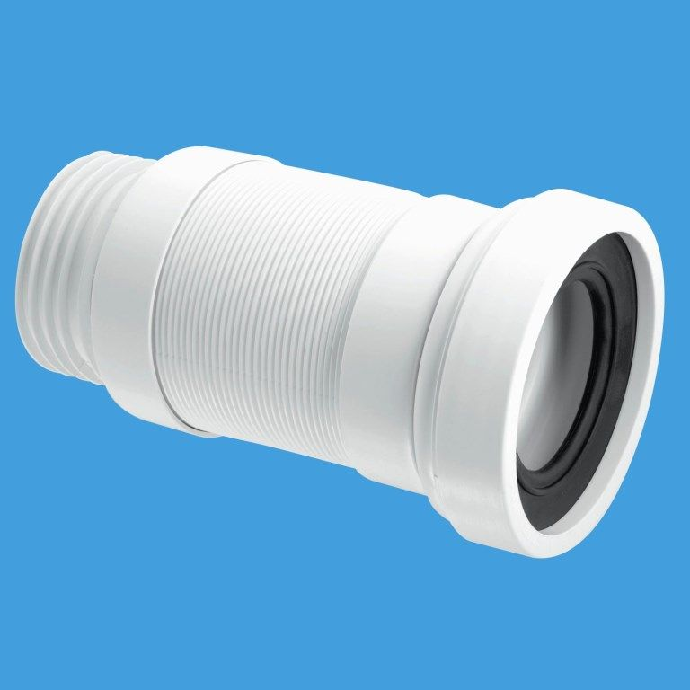 Mcalpine outlet long flexible toilet pan connector